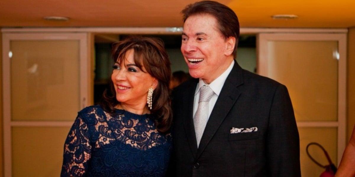 Íris Abravanel e Silvio Santos (Foto: Reprodução)