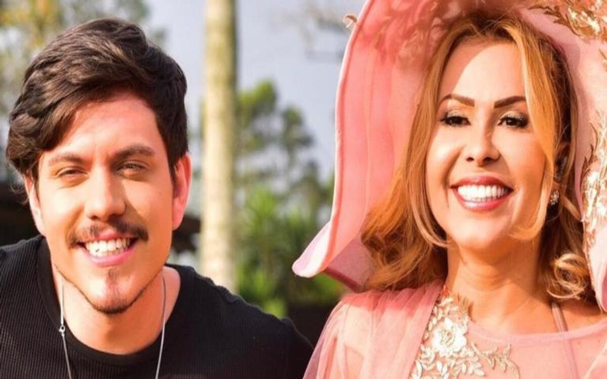 Joelma e seu filho, Yago Mendes (Foto: Divulgação)