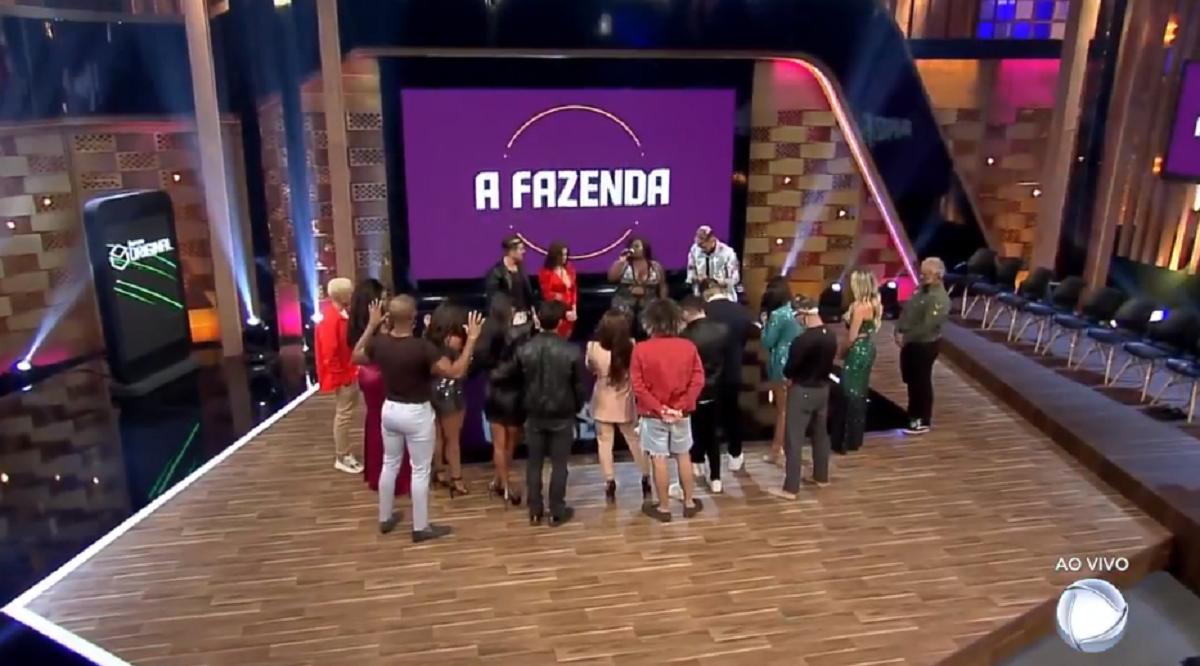 Globo: A Fazenda 12 termina com audiência histórica na Record (Foto: Reprodução)