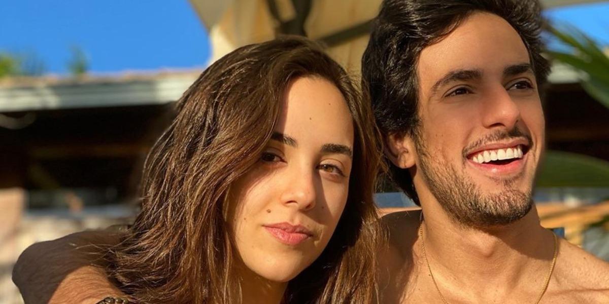 Lara Silva e Juninho Casares (Foto: Reprodução)