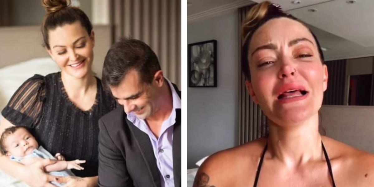 Laura Keller e Jorge Sousa findam casamento e atriz desabafa (Foto: Reprodução)