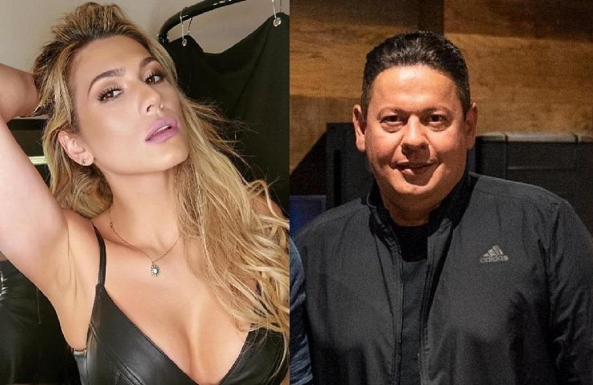 Lívia Andrade e Marcos Araújo (Foto: Reprodução) Pétala Barreiros
