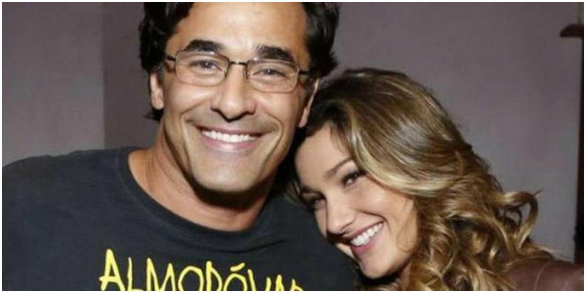 Luciano Szafir e a filha Sasha - Foto: Reprodução