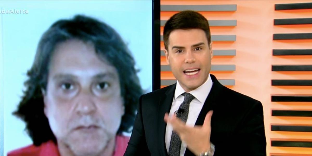 Luiz Bacci mostrou paradeiro de Paulo Cupertino (Foto: Reprodução/Record)
