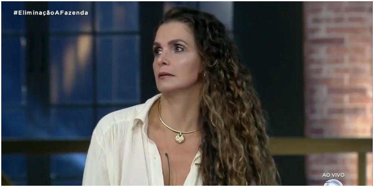 Luiza Ambiel acabou excluída em prova em A Fazenda - Foto: Reprodução