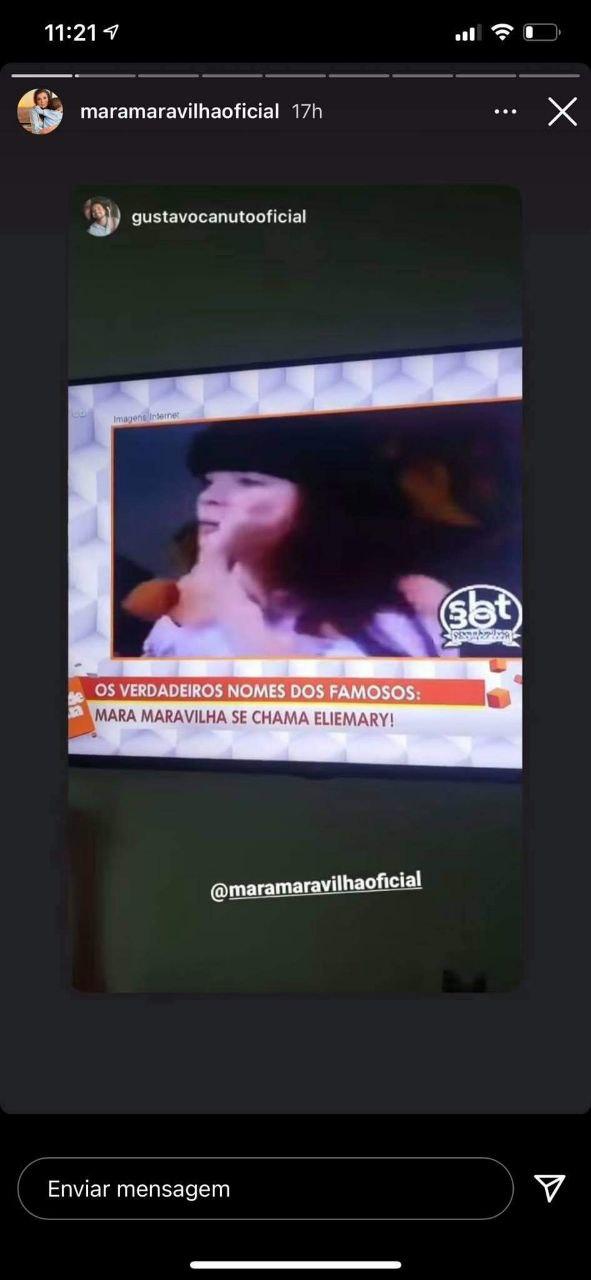 Sonia Abrão contou segredo de Mara Maravilha (Foto: Reprodução)
