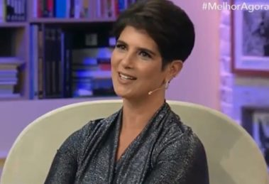 """Mariana Godoy no """"Melhor Agora"""" (Foto: Reprodução/Band)"""