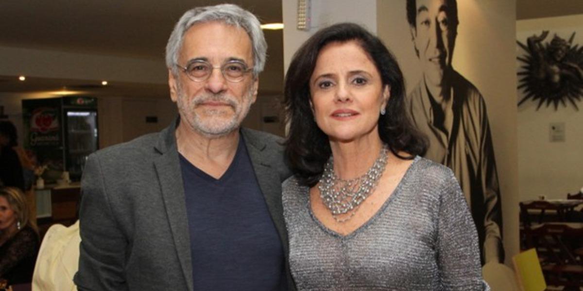 MArieta Severo e seu marido Aderbal Freire-Filho estão internados no mesmo hospital (Foto: Reprodução)
