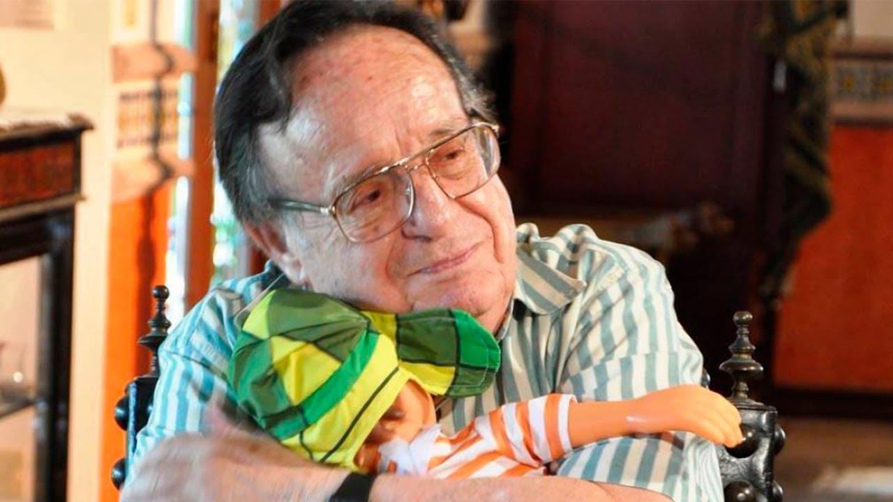 Roberto Gómez Bolaños era o intérprete do Chaves, famoso seriado do SBT (Foto: Reprodução/Youtube)