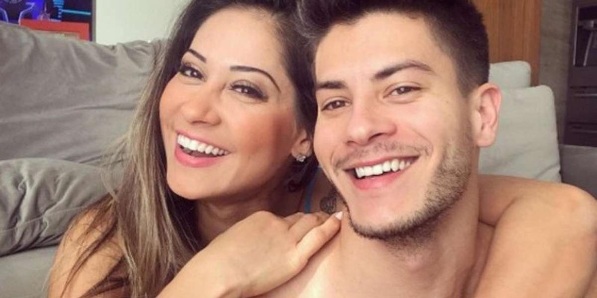 Mayra Cardi e Arthur Aguiar tem reconciliação anunciada (Foto: Reprodução)