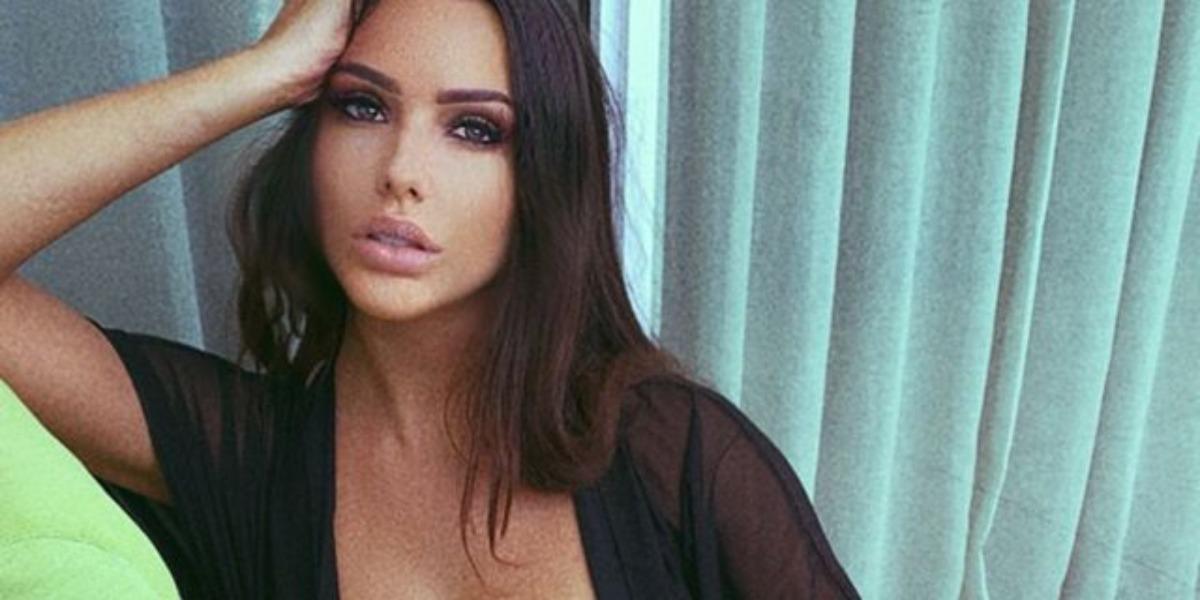 A modelo Paige Woolen Modelo ajuda mulheres a descobrir traições (Foto: Reprodução)