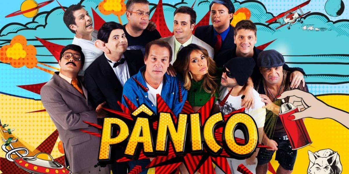 O Pânico na Band chegou ao fim em 2017 (Foto: Reprodução)