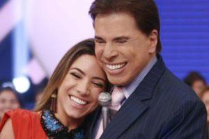 Patrícia Abravanel e Silvio Santos (Foto: Divulgação/SBT)