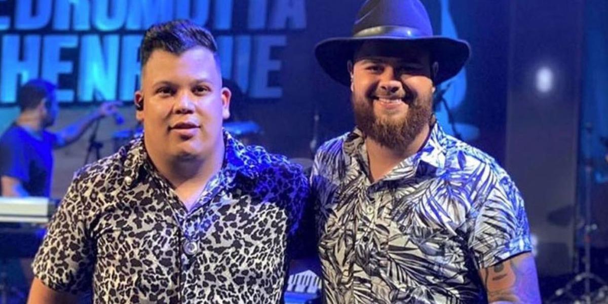 Dupla sertaneja Pedro Motta e Henrique são acusados de transfobia após música polêmica (Foto: Reprodução)