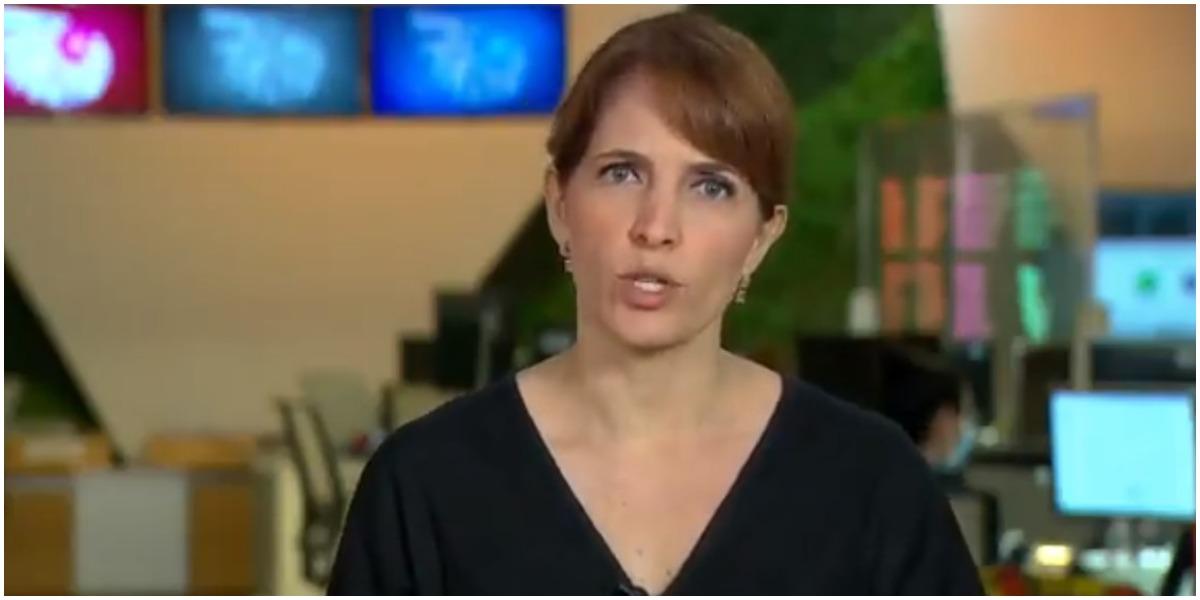 A apresentadora do Fantástico, Poliana Abritta - Foto: Reprodução