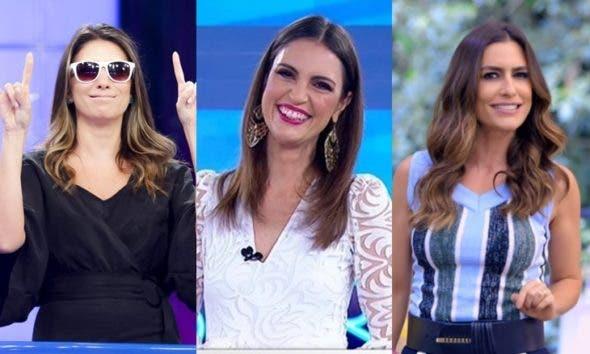 Rebeca Abravanel, Chris Flores e Ticiana Villas Boas disputam programa feminino no SBT (Foto: Reprodução)