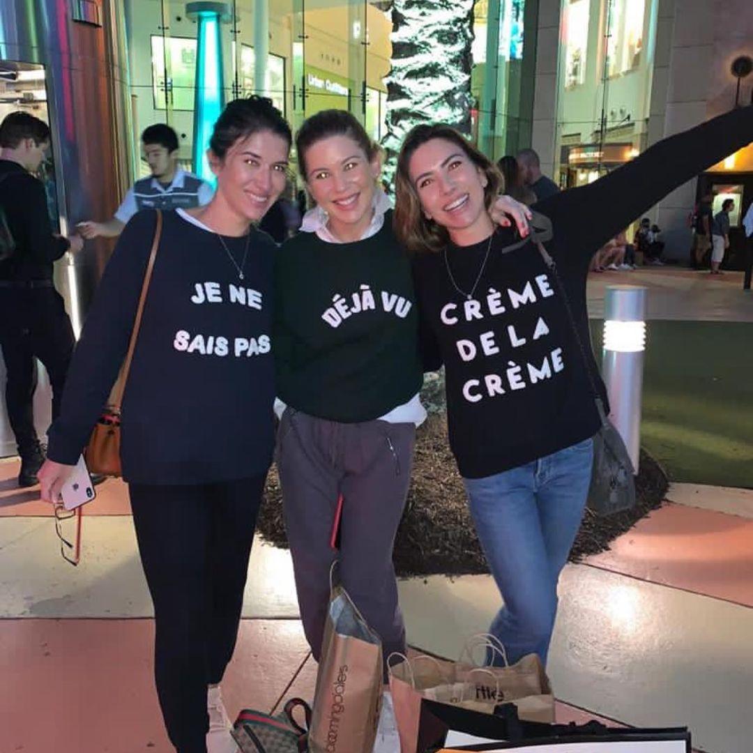 Rebeca Abravanel com Patrícia Abravanel e Daniela Beyruti (Foto: Reprodução/Instagram)