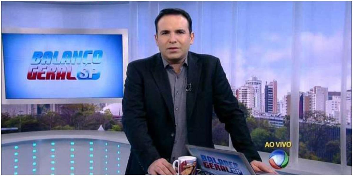 O apresentador Reinaldo Gottino revelou acidente com Silvio Santos - Foto: Reprodução