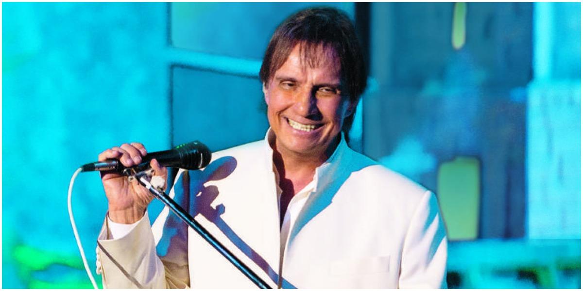 O cantor Roberto Carlos no especial de Jerusalém - Foto: Reprodução