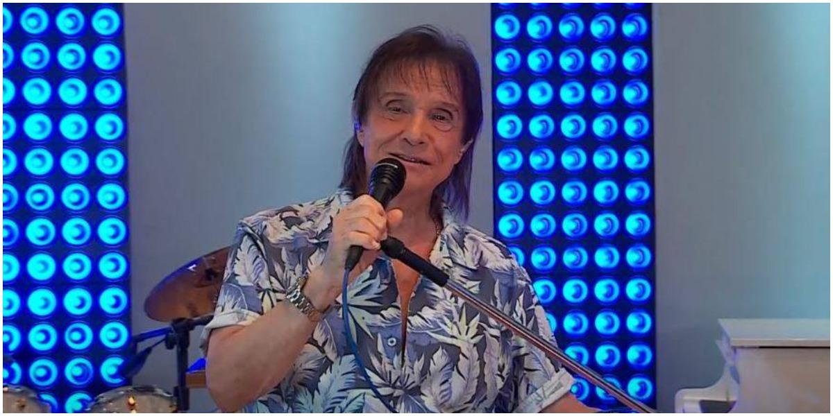 O cantor Roberto Carlos, contratado pela Globo - Foto: Reprodução