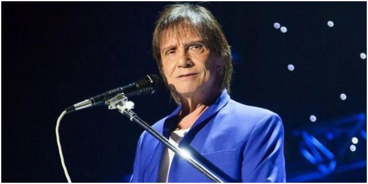 O cantor Roberto Carlos apareceu em vídeo com Rita Lee - Foto: Reprodução
