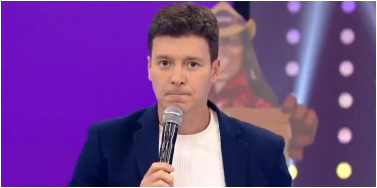 Rodrigo Faro em seu programa na Record - Foto: Reprodução