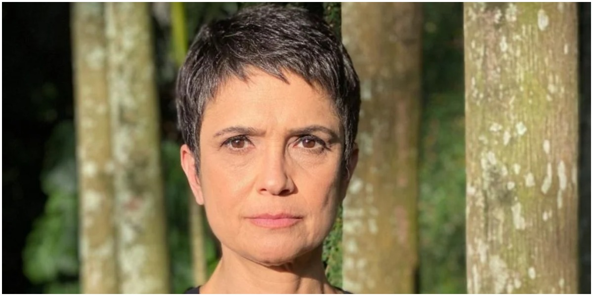 A jornalista Sandra Annenberg tomou rasteira da Globo - Foto: Reprodução