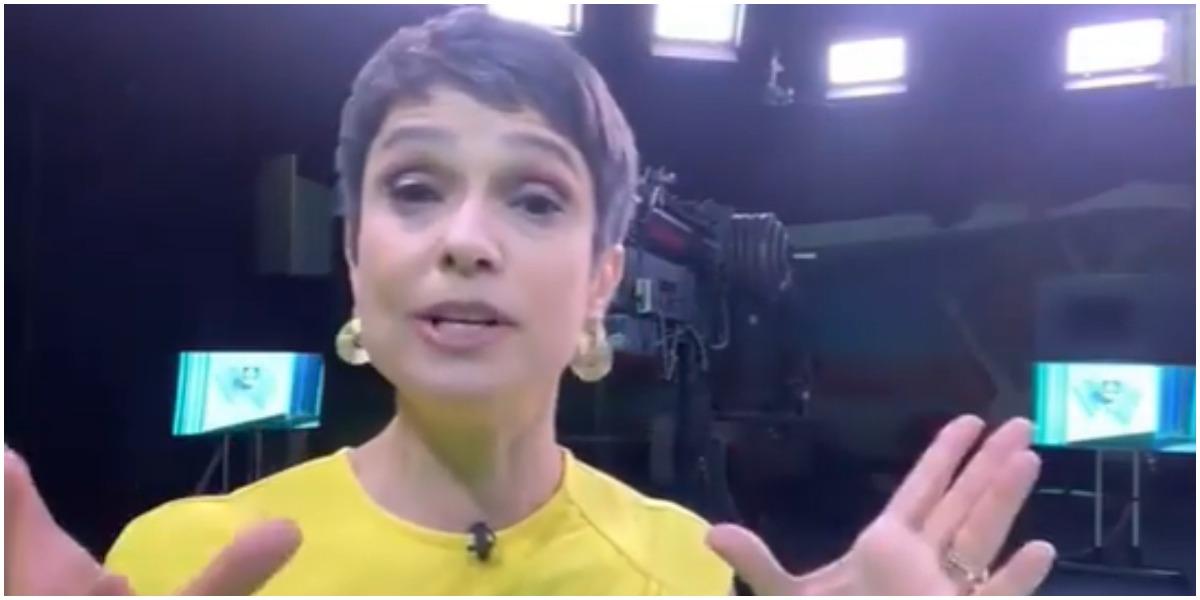 Sandra Annenberg usou as redes sociais para agradecer as inúmeras mensagens de carinho que recebeu após exibição de matéria no Globo Repórter (Foto: Reprodução)