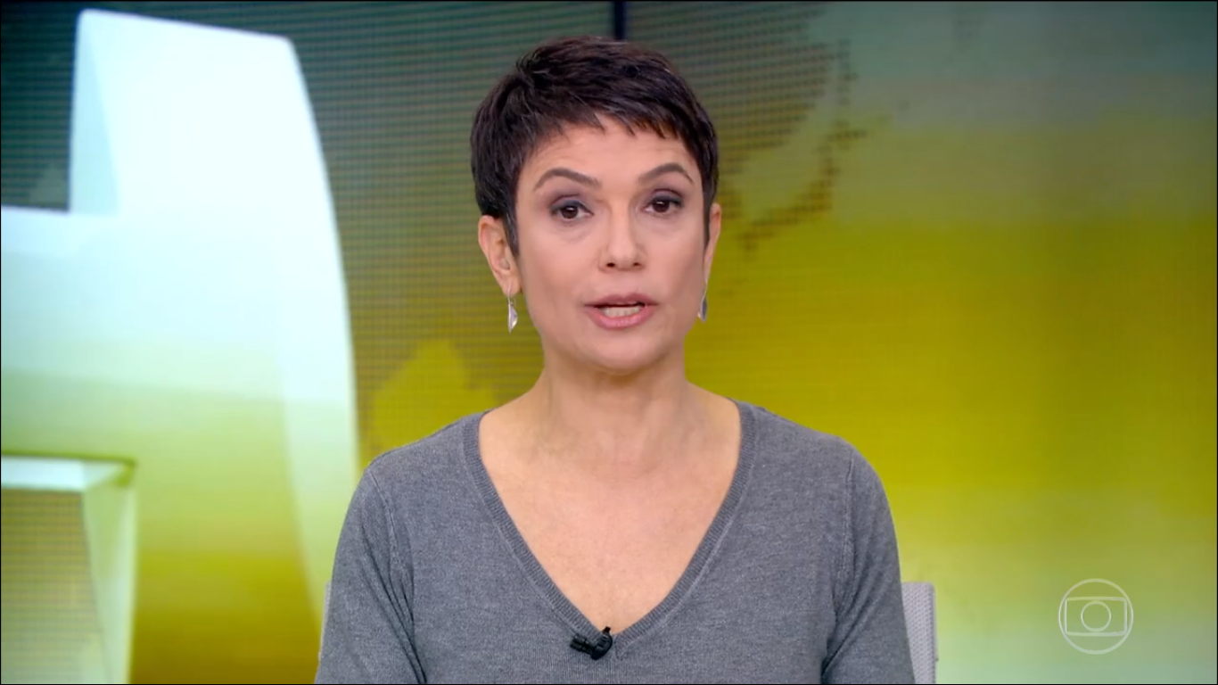 Sandra Annenberg (Foto: Reprodução/TVGlobo)