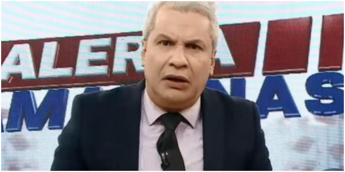 O apresentador Sikêra Jr, da RedeTV! - Foto: Reprodução