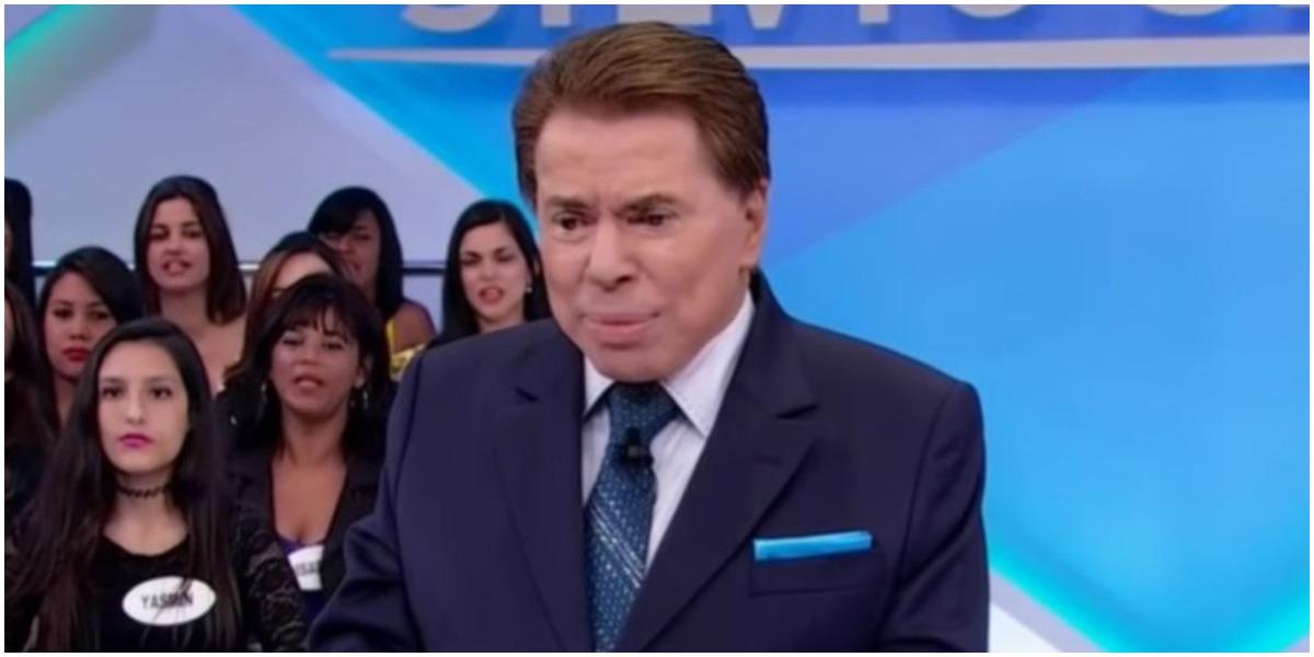 O apresentador Silvio Santos, do SBT - Foto: Reprodução