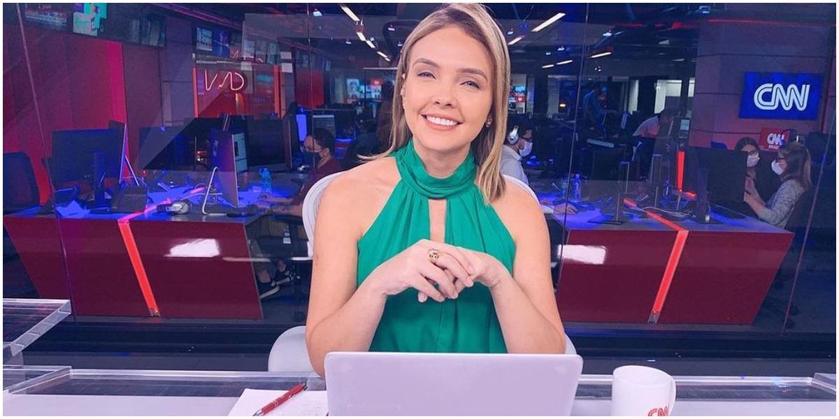A jornalista Taís Lopes, da CNN Brasil - Foto: Reprodução