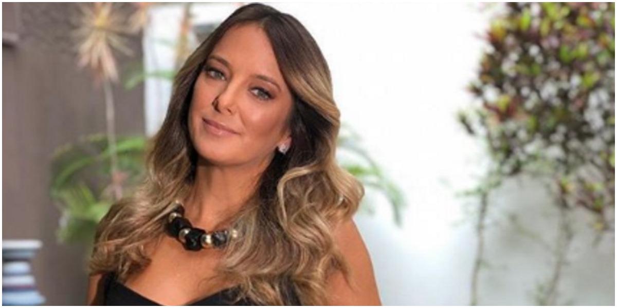 A apresentadora Ticiane Pinheiro, da Record - Foto: Reprodução
