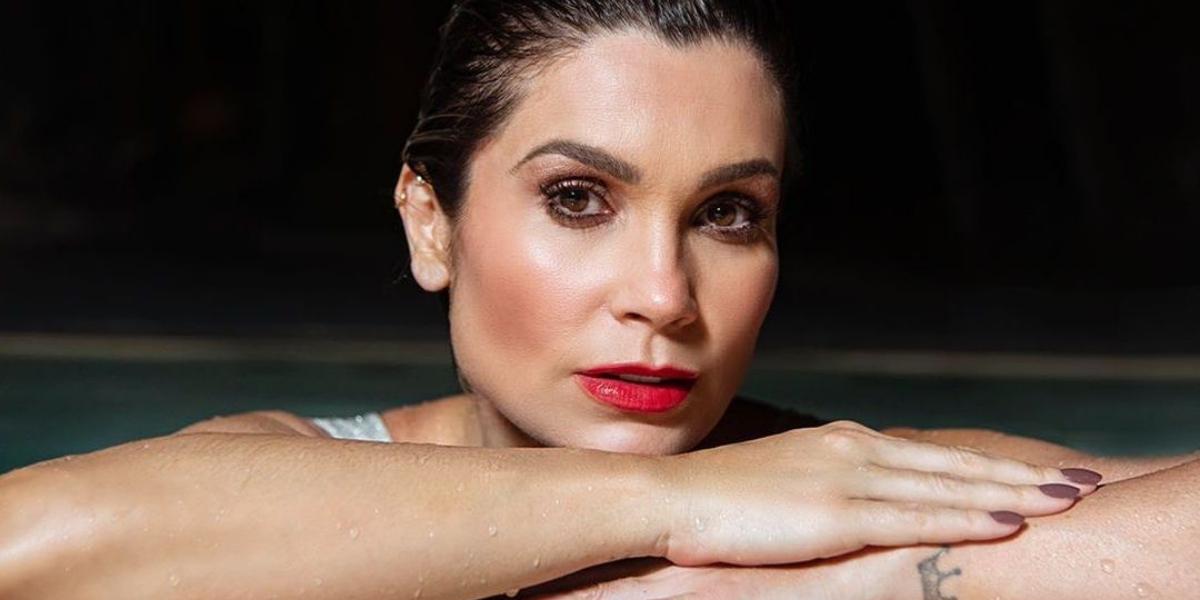 Flávia Alessandra é casada com Otavio Costa há 14 anos (Reprodução)