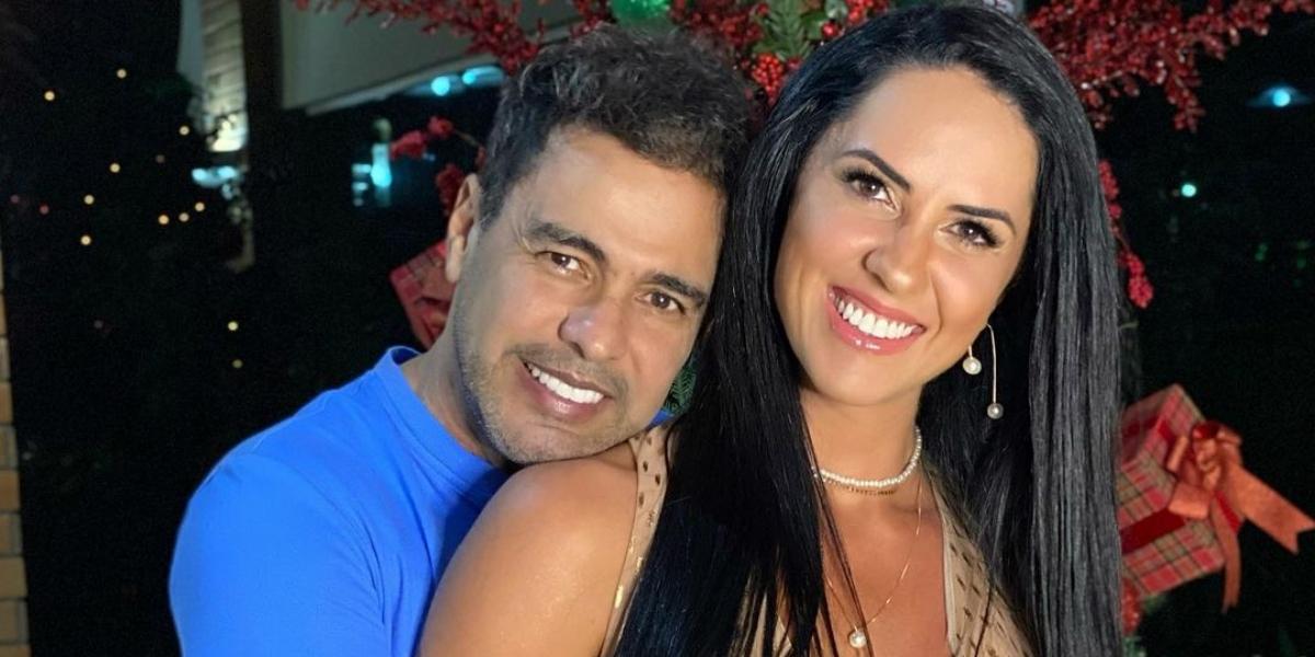 Zezé Di Camargo e Graciele Lacerda (Reprodução)