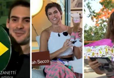 Os presentes mais bizarros e humilhantes do amigo secreto na TV (Foto: Montagem/TV Foco)