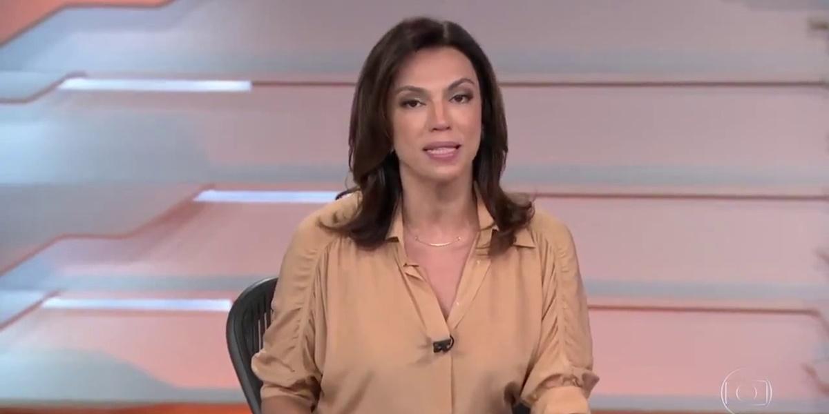 Ana Paula Araújo está de férias do Bom Dia Brasil (Foto: Reprodução)
