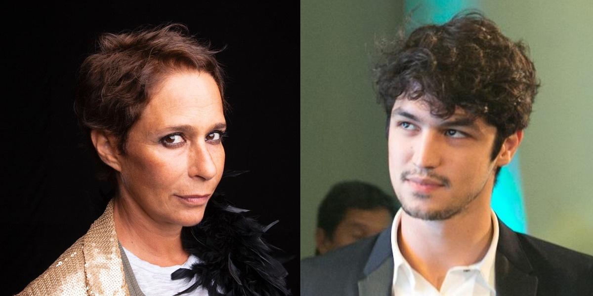 Globo: Andréa Beltrão e Gabriel Leone (Foto: Reprodução)
