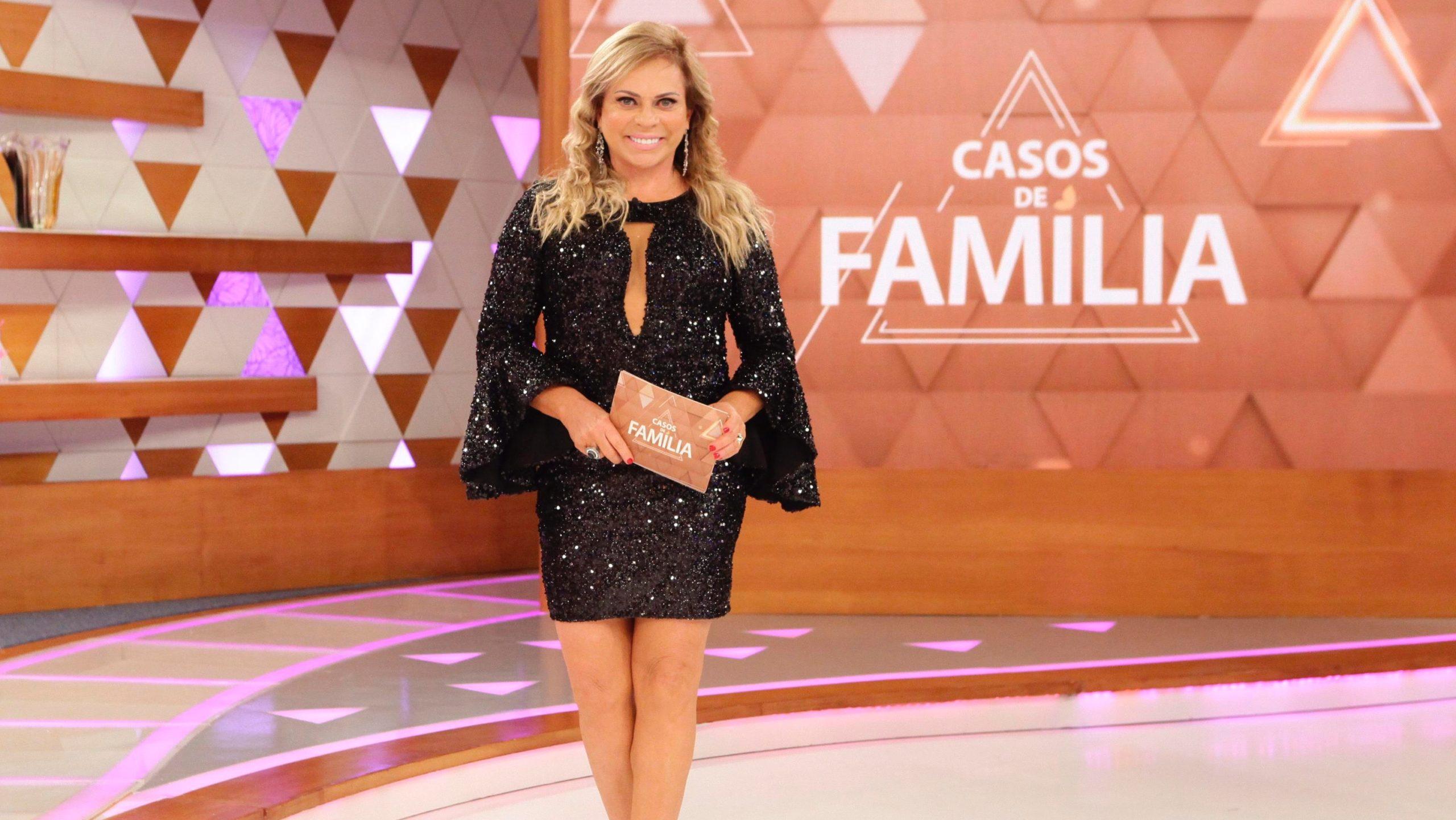 Christina Rocha comanda o Casos de Família no SBT (Foto: Divulgação/SBT)
