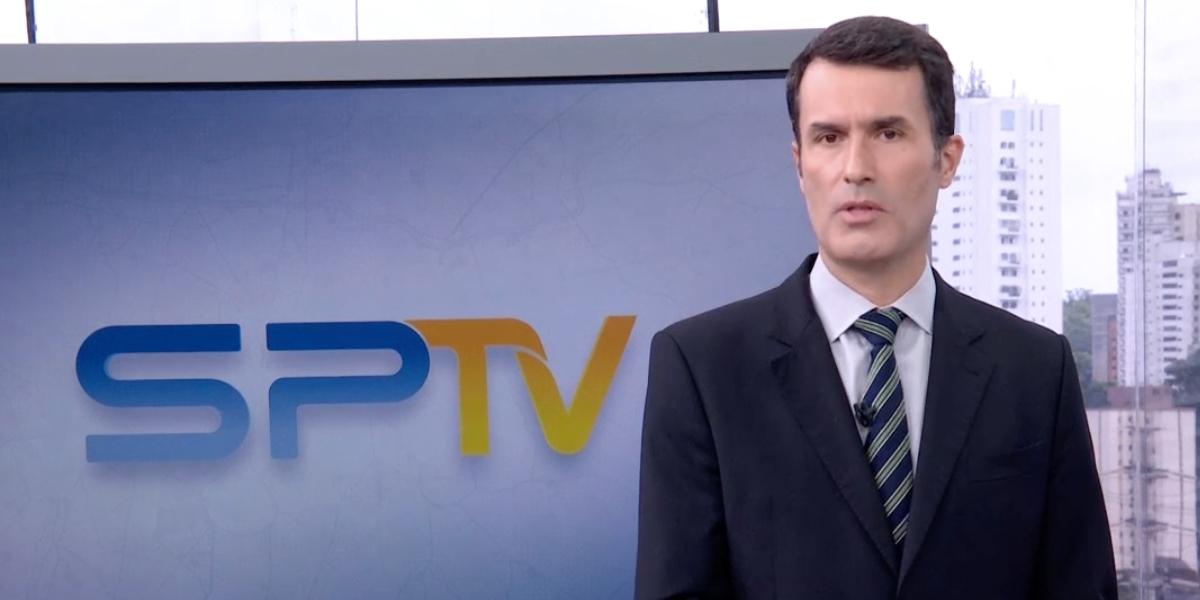 Fabio Turci começa jornal na Globo às pressas (Reprodução)