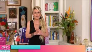 Ana Maria Braga, ao vivo, na Globo, ficou vendida ao chamar por Fátima Bernardes que não apareceu no telão (Foto reprodução)