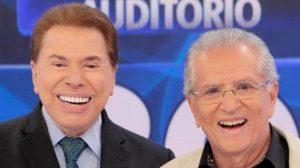 Carlos Alberto e Silvio Santos tiveram briga série no passado (Foto: Reprodução)