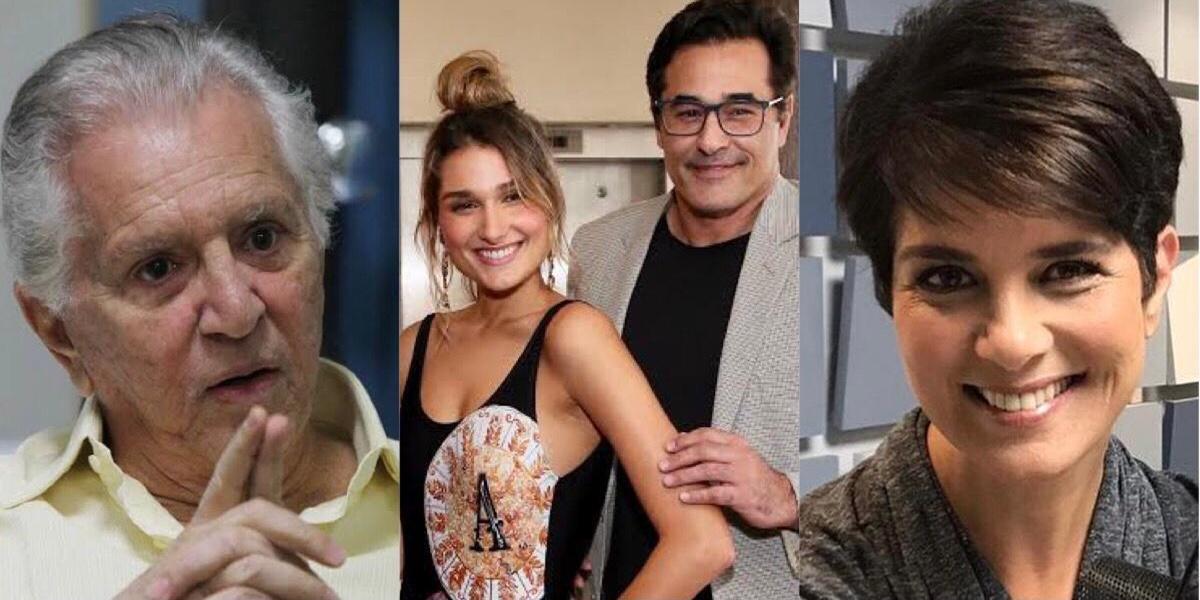Carlos Alberto, Sasha Meneghel, Luciano Szafir, Mariana Godoy