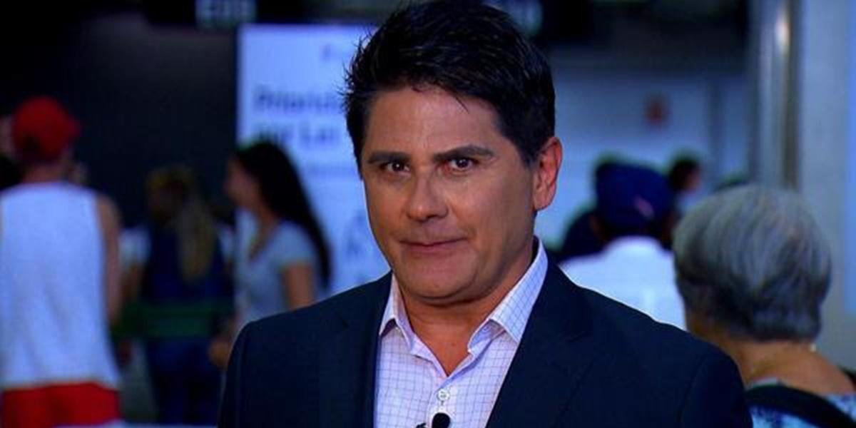 César Filho anunciou desfecho com a Record após sumiço de programa (Foto: Reprodução)