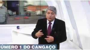 Datena enviou mensagem especial para o seu filho, o apresentador Vicente Datena (Foto: Reprodução)