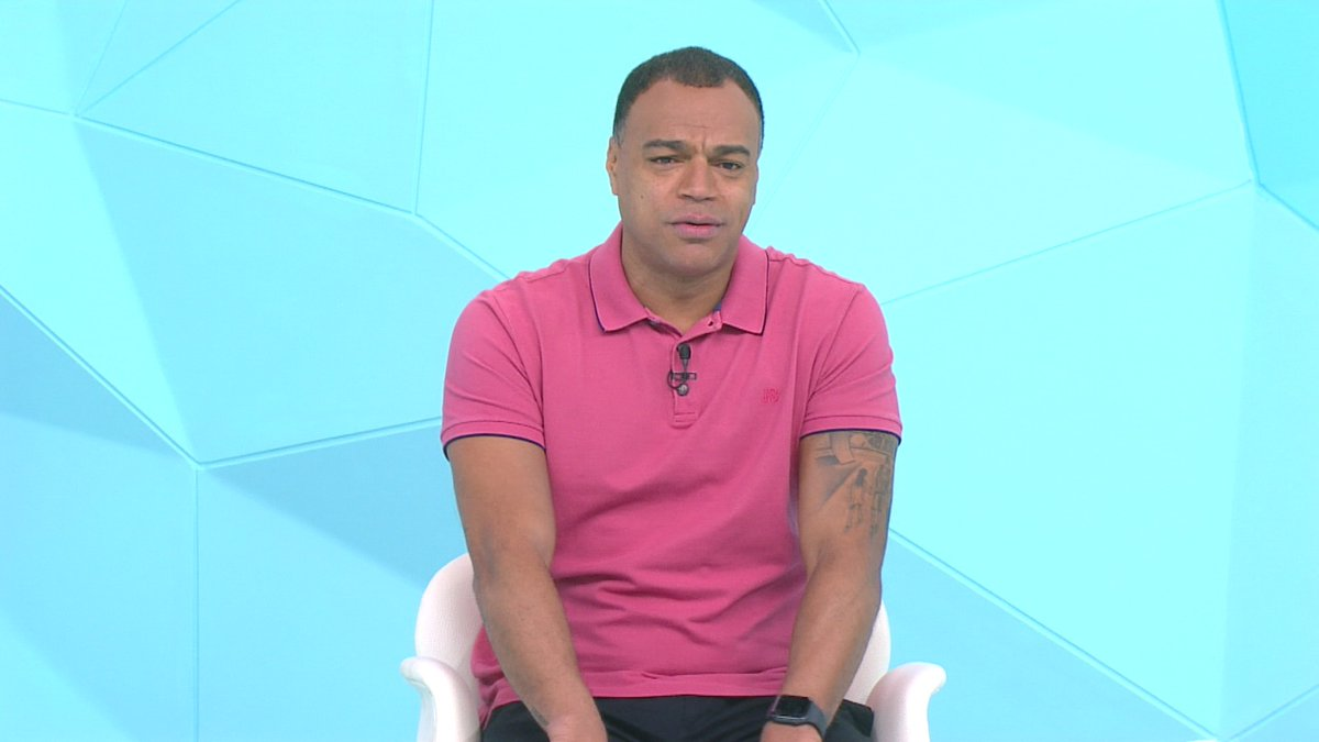 Denilson no programa Jogo Aberto (Foto: Reprodução)