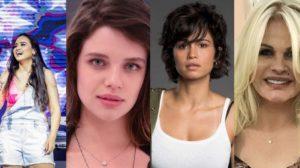 Luiza, Bruna Linzmeyer, Nanda Costa e Monique Evans são assumidamente lésbicas