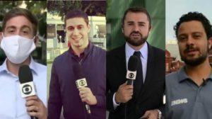 Repórteres da Globo que namoram com homens e você nem imagina