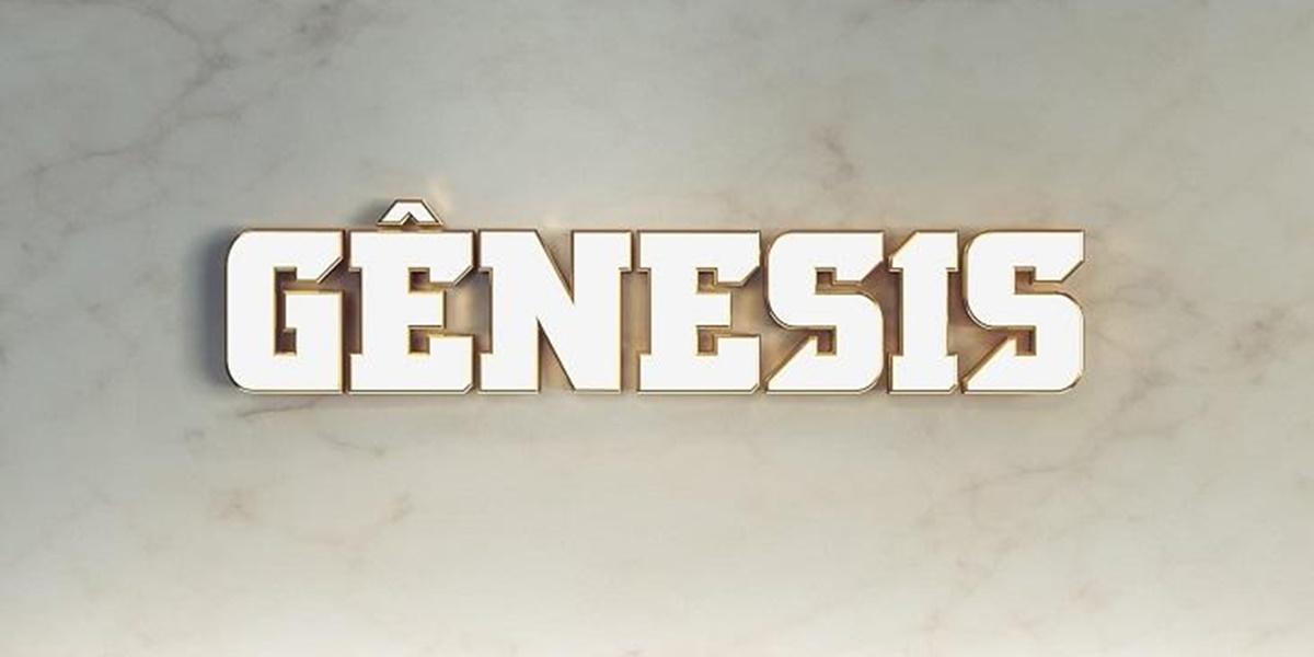 Record: Logo da novela Gênesis (Foto: Reprodução)