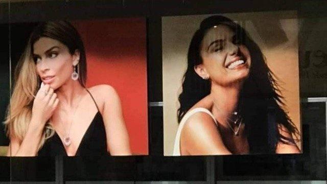 Grazi Massafera e Isis Valverde estrelam mesma campanha para marca de joias (Foto: Reprodução)